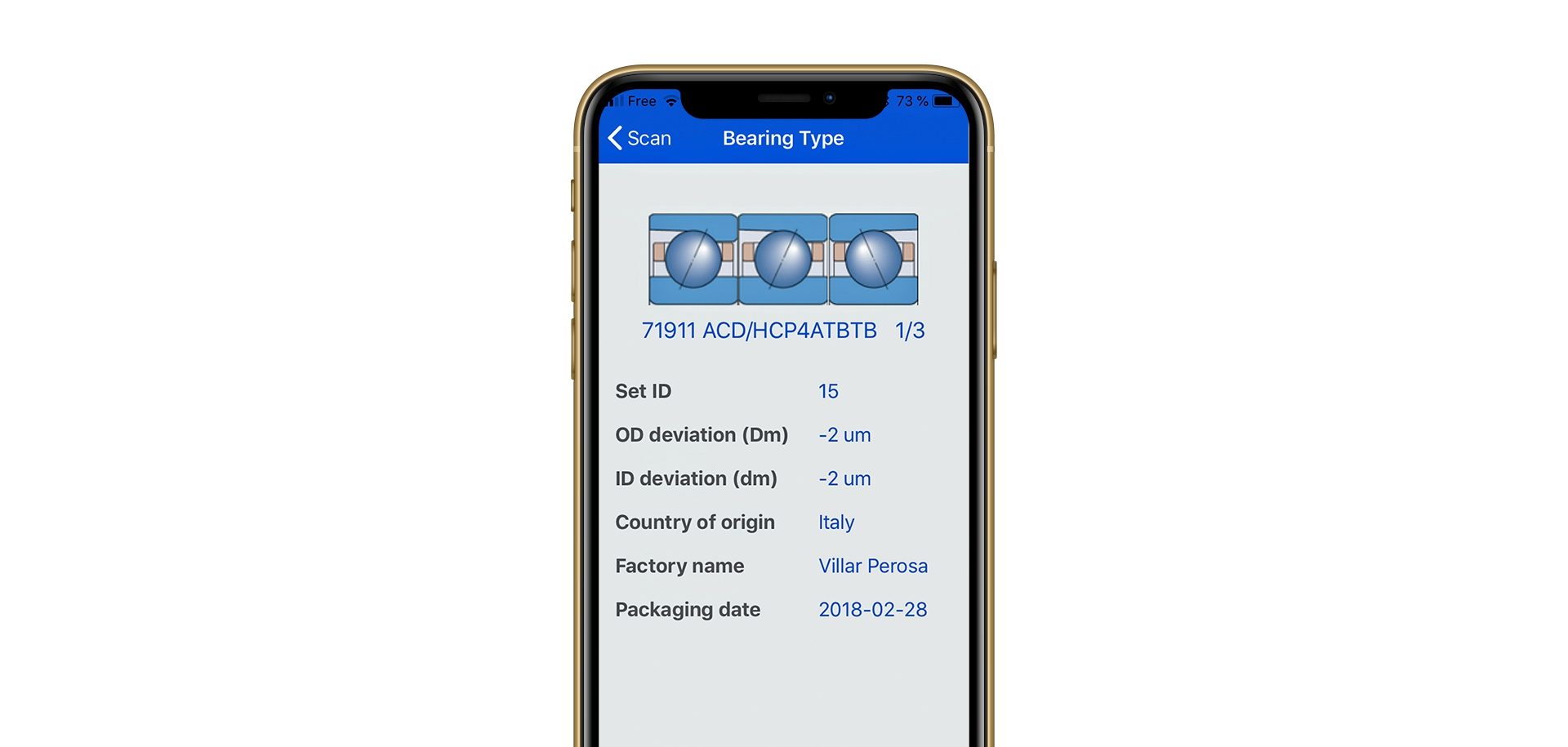 New app for tracing bearings