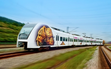 KLIA Ekspres with Cheetah livery.