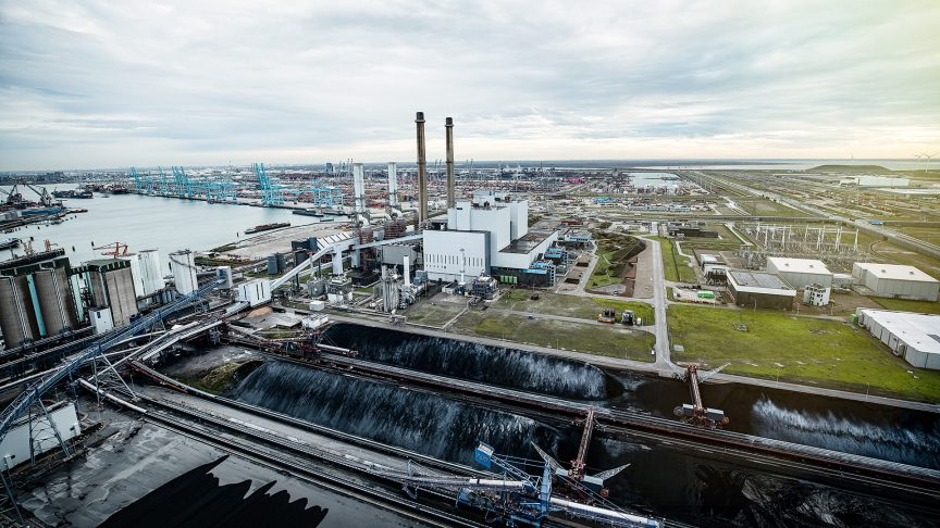 The Maasvlakte Power Plant 3 in the Netherlands