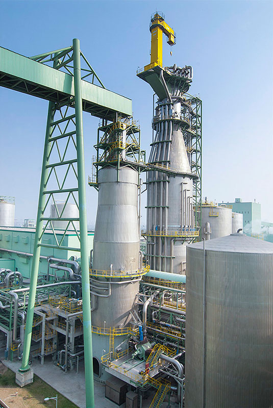Digestore Valmet CompactCooking™ installato presso Asia Symbol (Shangdong) Pulp and Paper Co.,Ltd.