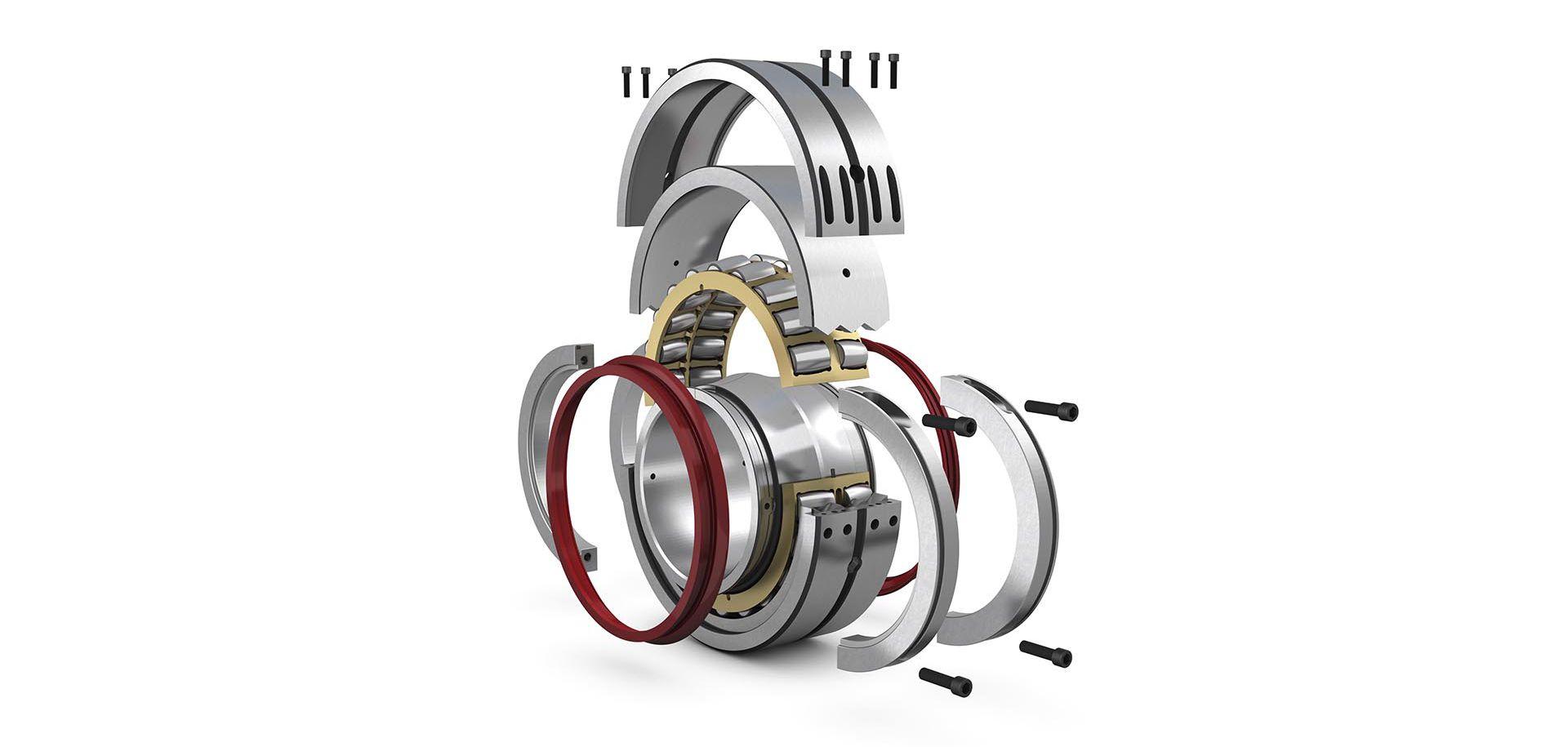 Разъёмные сферические роликоподшипники – преимущества при замене