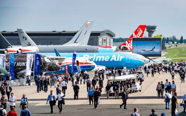 The 53rd Paris Air Show at Le Bourget.