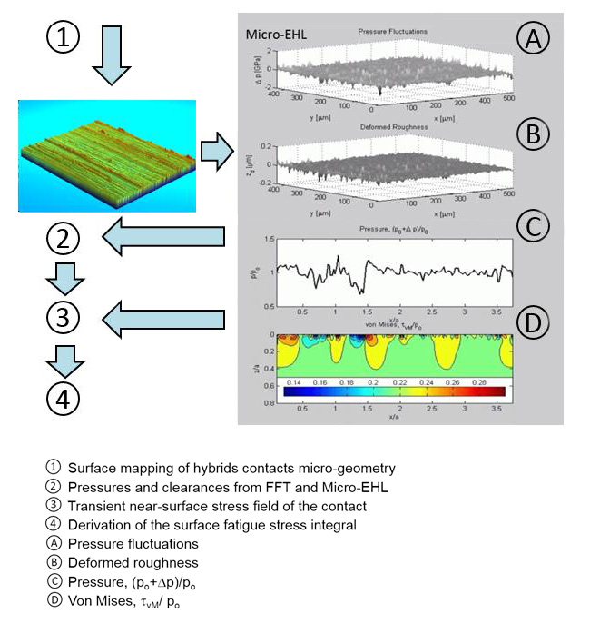 Schematic flowchart of advanced Micro-EHL