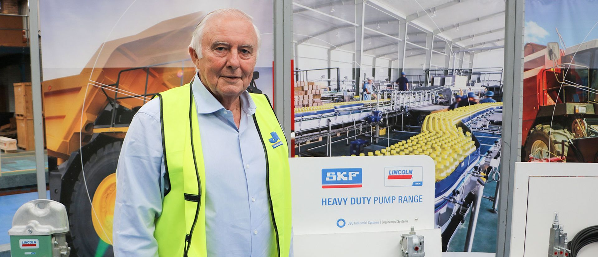 John Sample, majitel a generální ředitel JSG Industrial Systems.