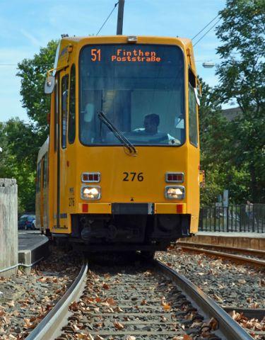美因茨有轨电车平稳运行