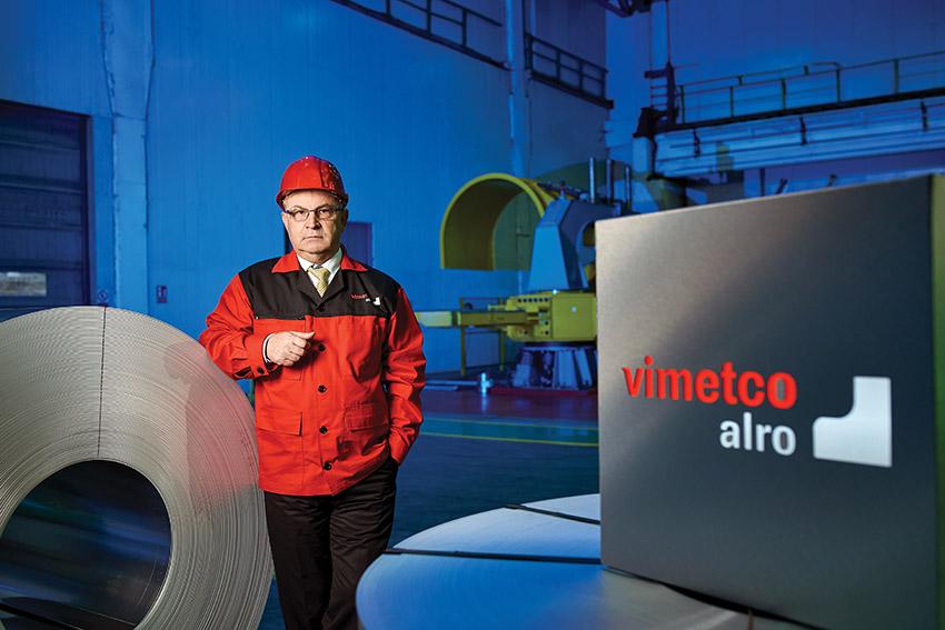 Георге Добра, главный исполнительный директор Aluminium Romania (ALRO)