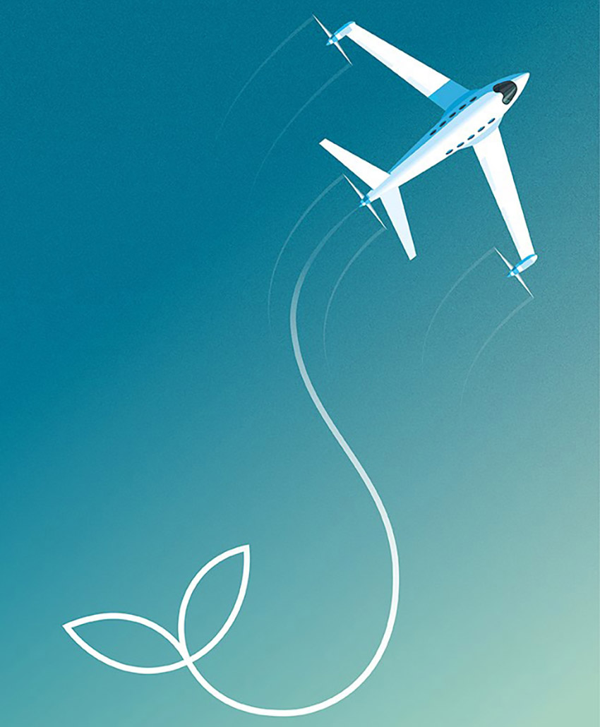 SKF and sustainable aviation