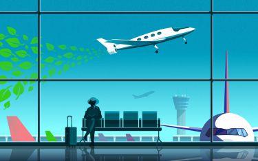 Grüner Flugverkehr in Sicht