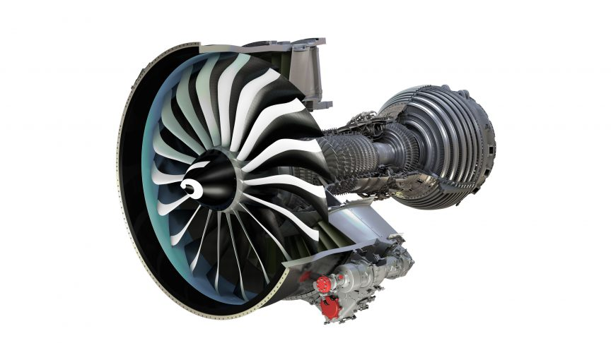 图9:LEAP发动机。