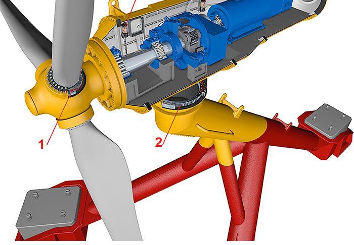 Рис. 8: 3D модель приливно-отливной турбины.