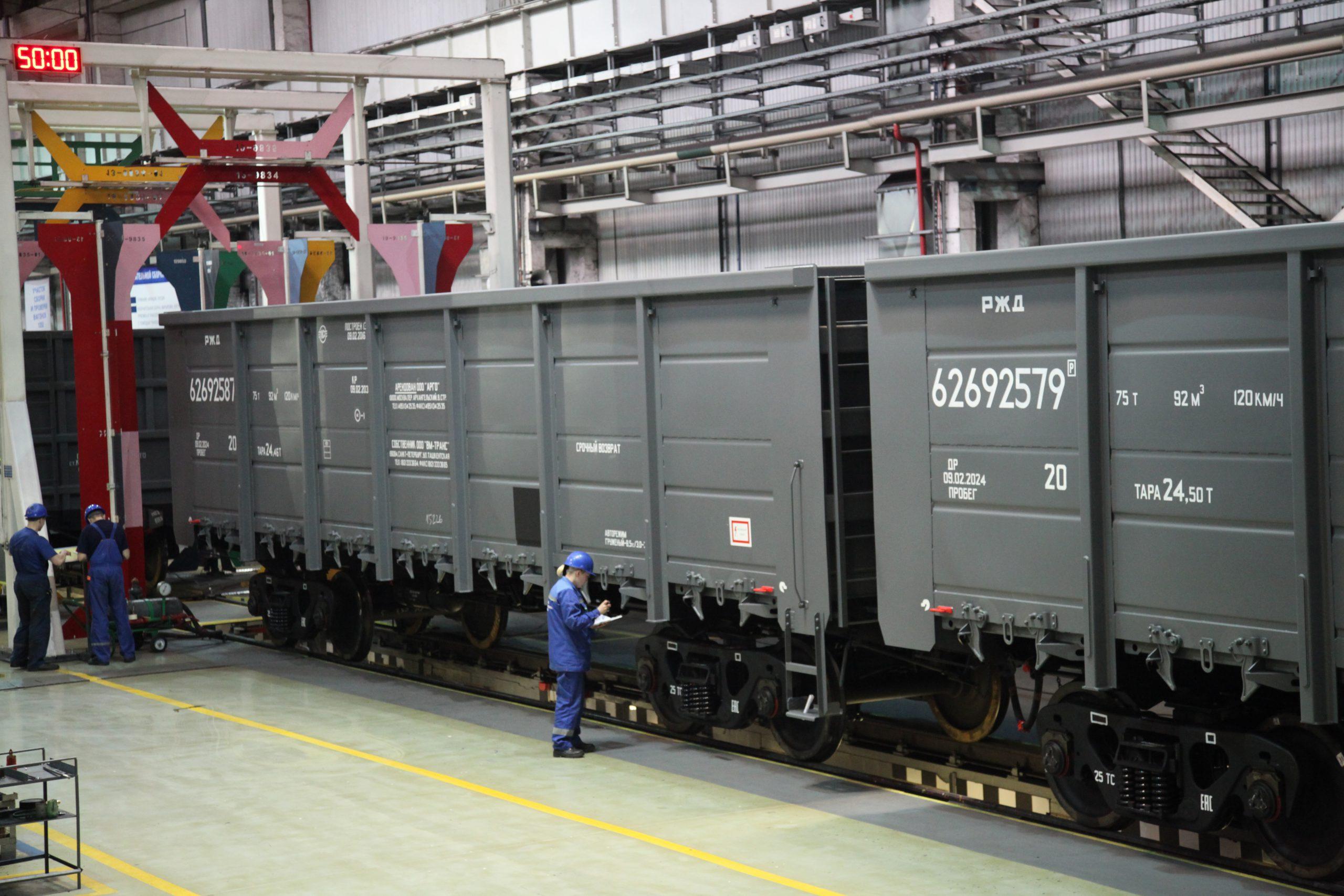 Estensione del contratto con una compagnia ferroviaria russa