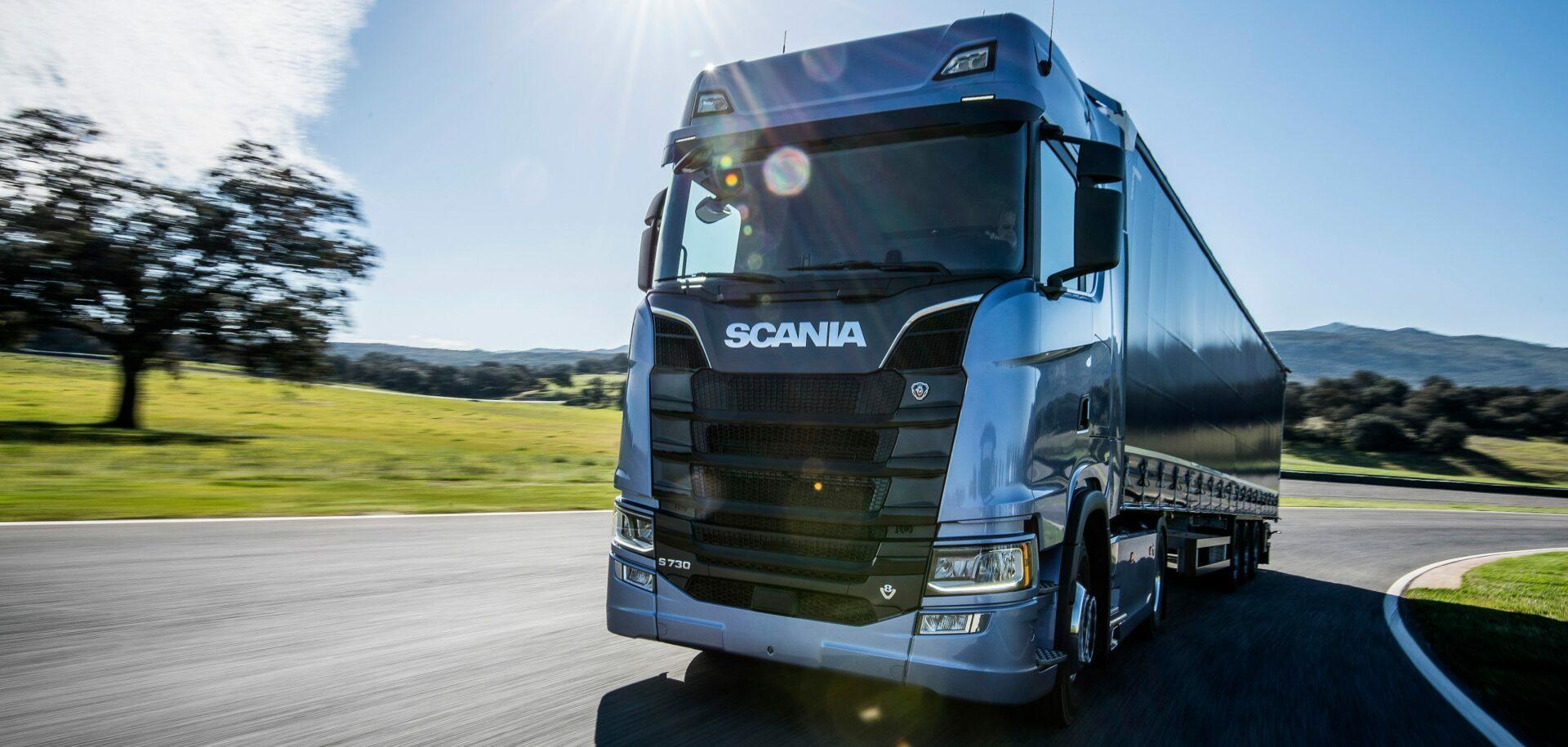 Technologie SKF vnových nákladních vozidlech Scania