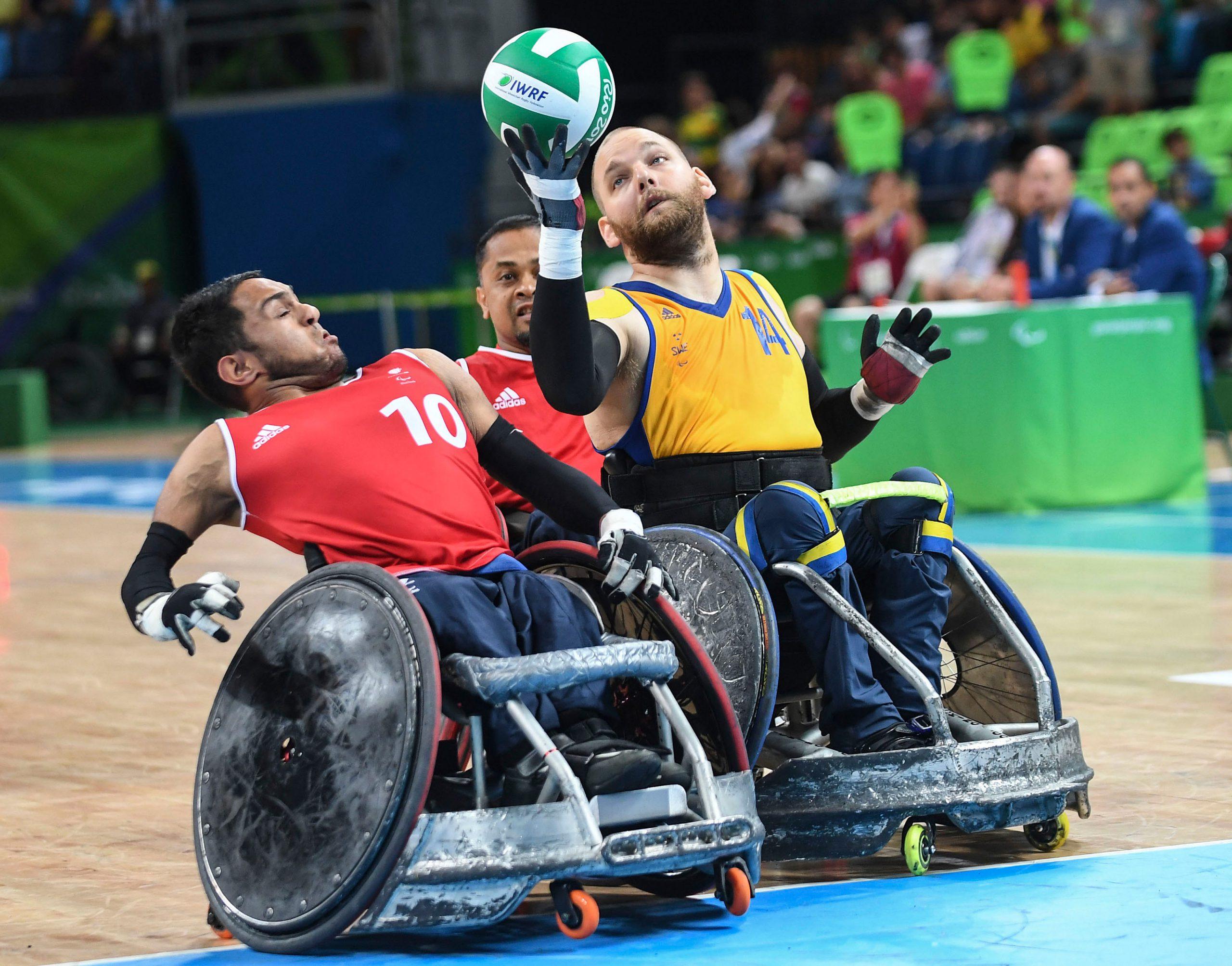 Swedish wheelchair rugby team