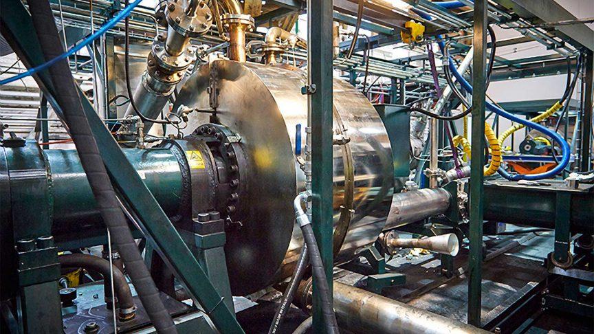 Cassandra Oil's patented CASO reactor.