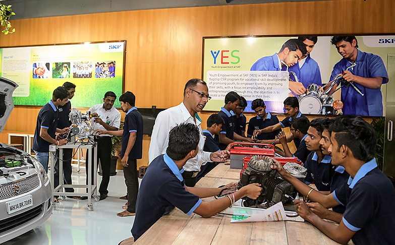YES facility in Pune, India
