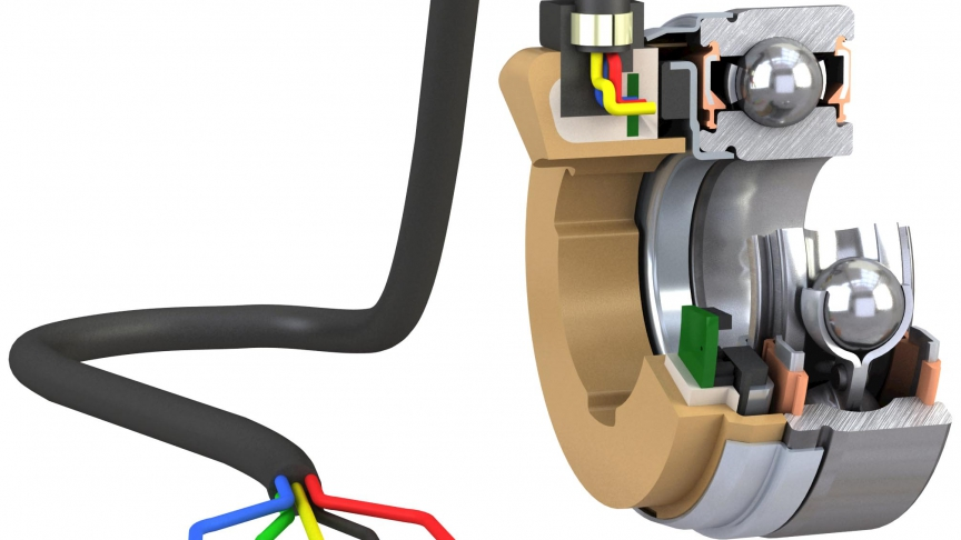 Compact and reliable motor encoder technology