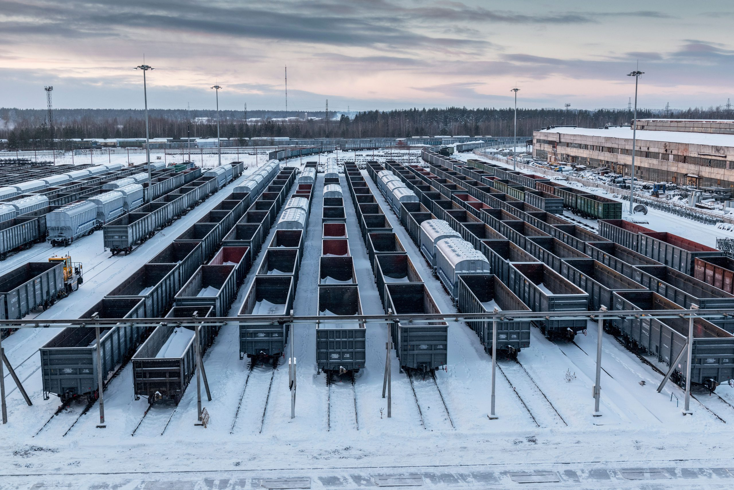 Renovar los ferrocarriles rusos