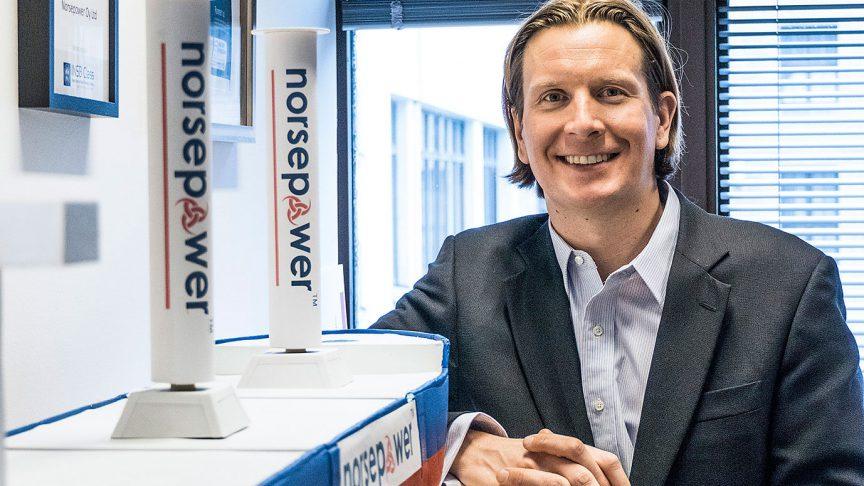 Tuomas Riski, generální ředitel společnosti Norsepower Oy.