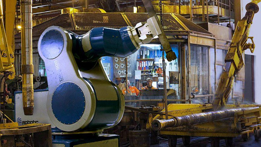 Un robot de plancher RDS