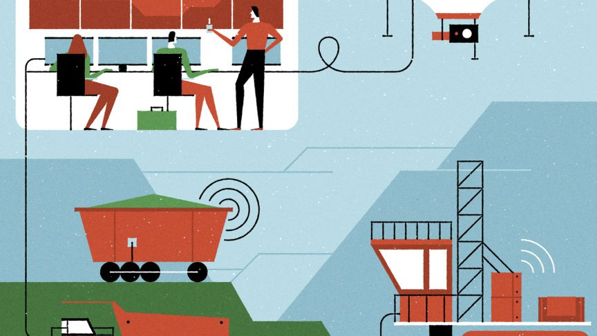 L'Industrial Internet of Things pone al centro l'uso di big data, sensori connessi, macchine automatiche e intelligenza artificiale.
