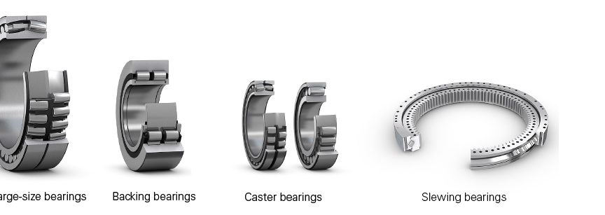Fig. 1: Typical bearings suitable for remanufacture.