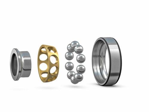 New SKF Explorer single-row angular contact ball bearings for high-speed applications