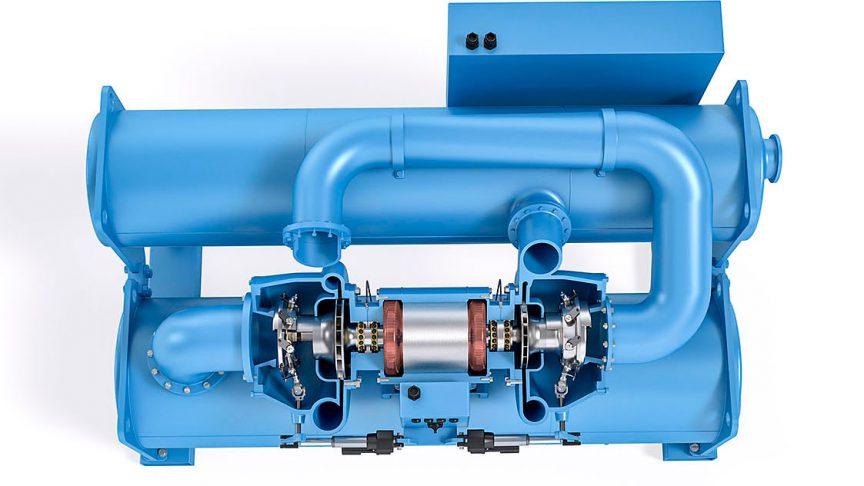 Compresseur centrifuge.