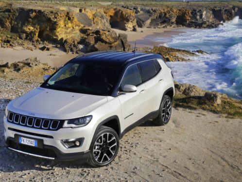 SKF wheel bearings in the new Jeep Compass