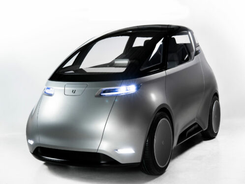 Uniti's two-seater lightweight car