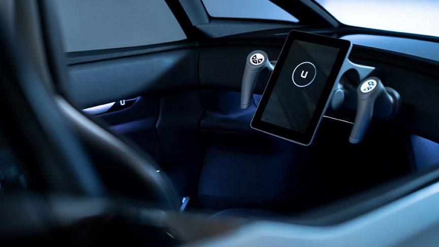 Mодуль рулевого управления электромобиля Uniti