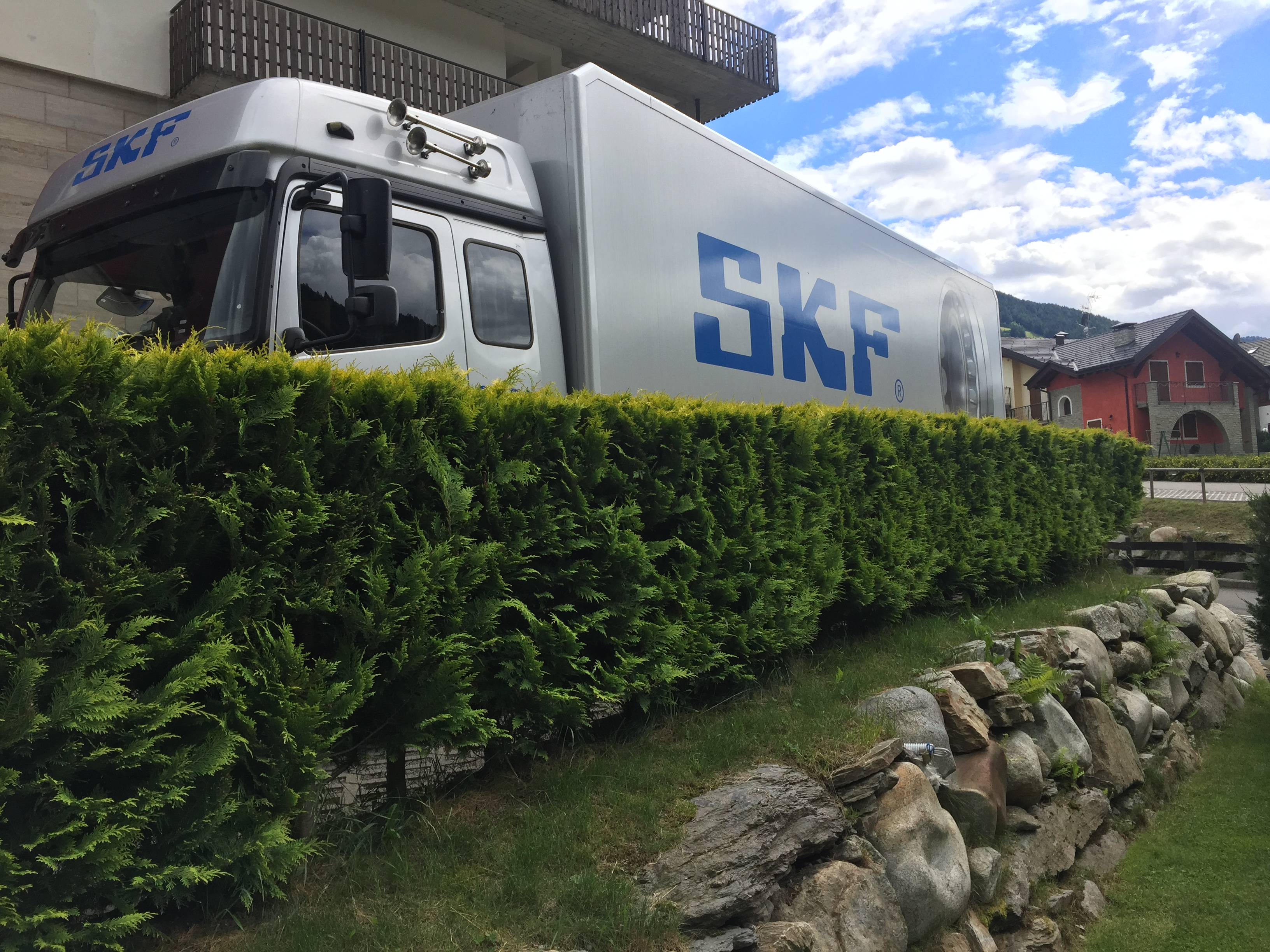 SKF al Customer day di Orla