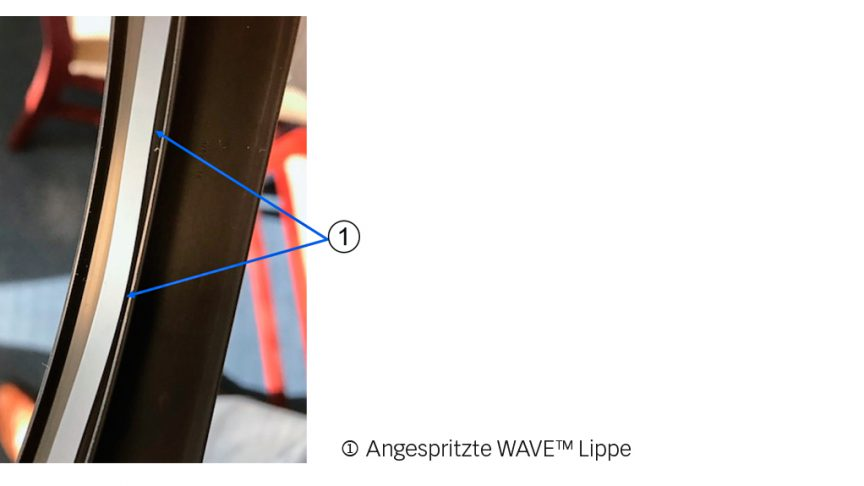 WAVE Dichtlippentechnologie