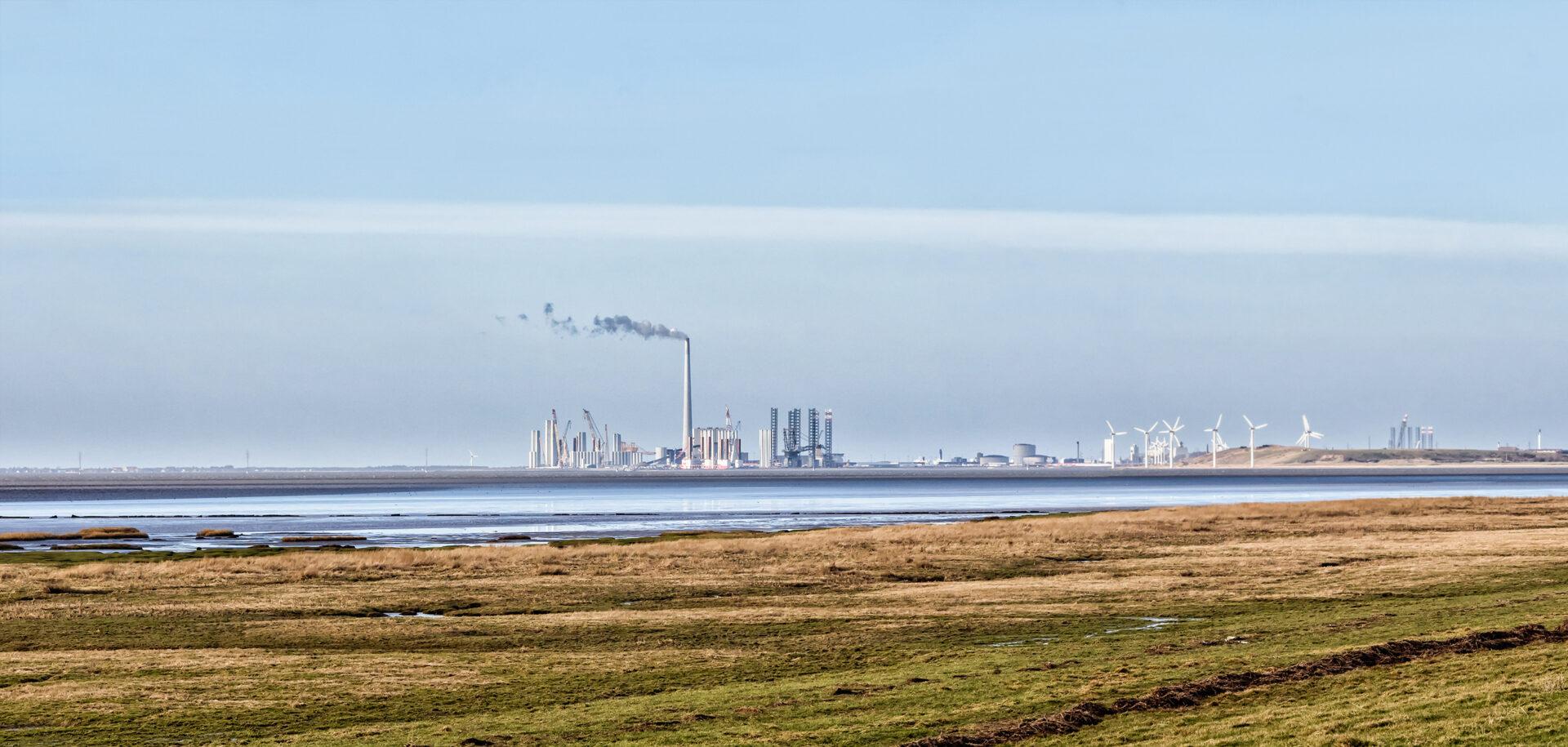 Das dänische Städtchen Esbjerg ist eine europäische Metropole für Windenergie.