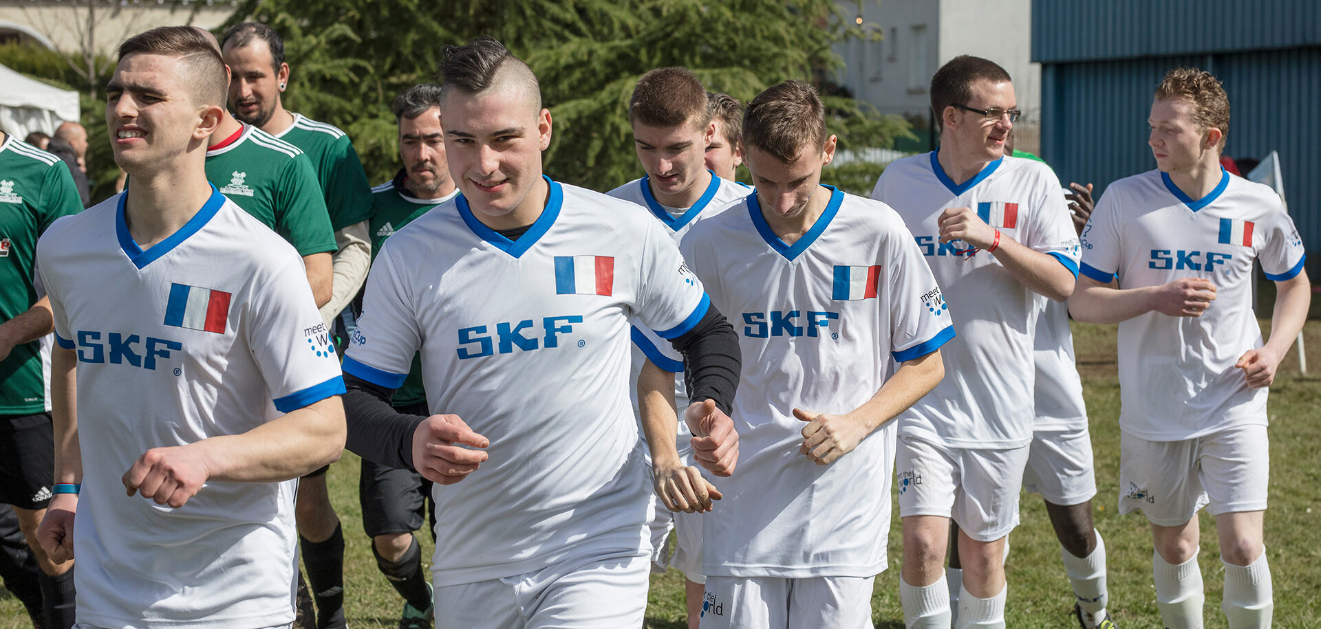 Meet the World, a football tournament organized in France by SKF in partnership with Special Olympics.