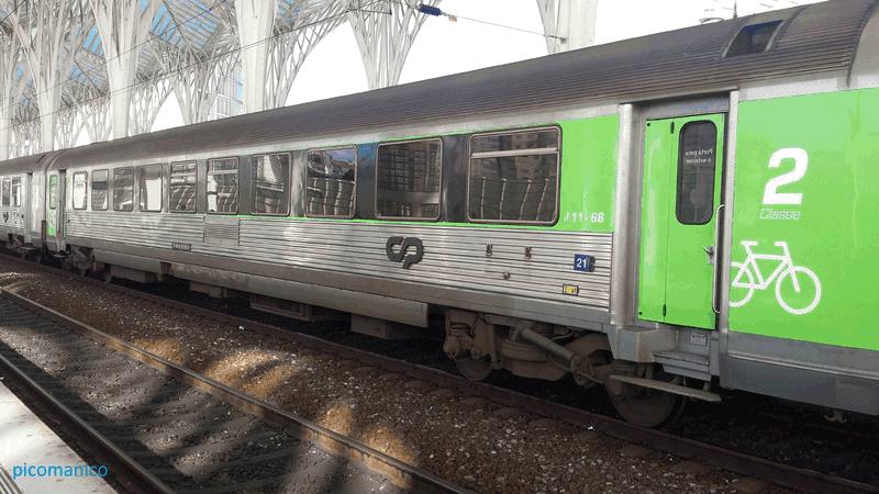 Wartungsarme Radsatzlager für die portugiesische Bahn