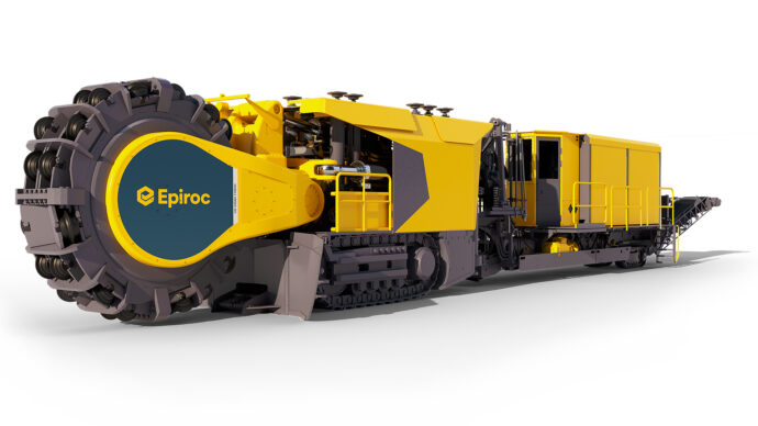 Mobile Miner 40V is typically used in small to medium-sized tunnels.