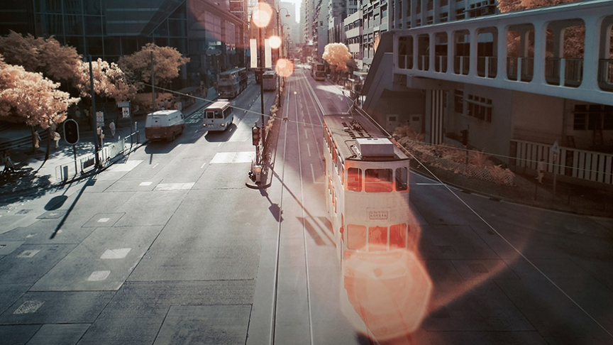 The iconic 'ding-ding' trams have been running the streets of Hong Kong Island for more than a century.