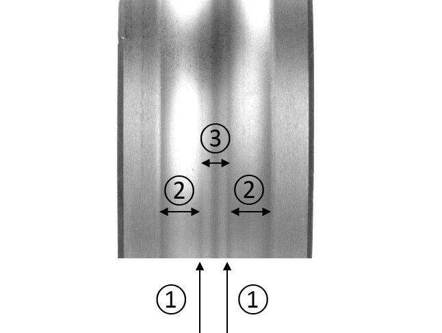 Fig. 4b. Influence de la déformation élastique sur la bague intérieure d'un roulement rigide à billes.