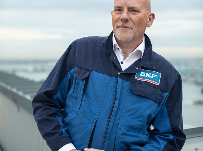 Marcel van Nielage, business manager, SKF.