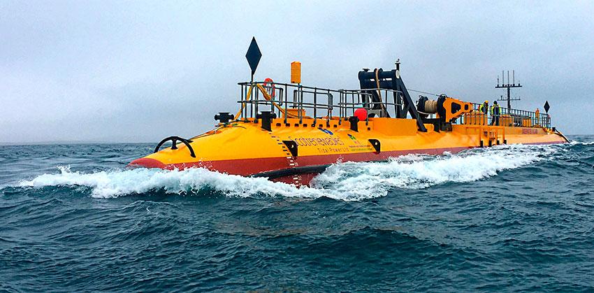 Турбина SR2000 компании Orbital Marine