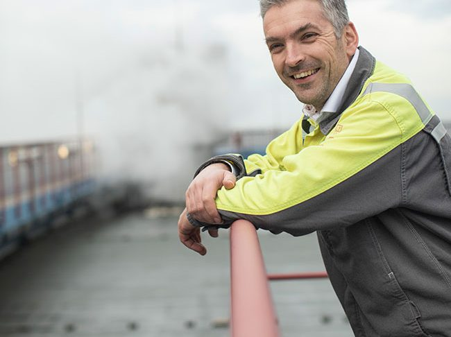 Uniper Maasvlakte 维护经理Rutger Boere。