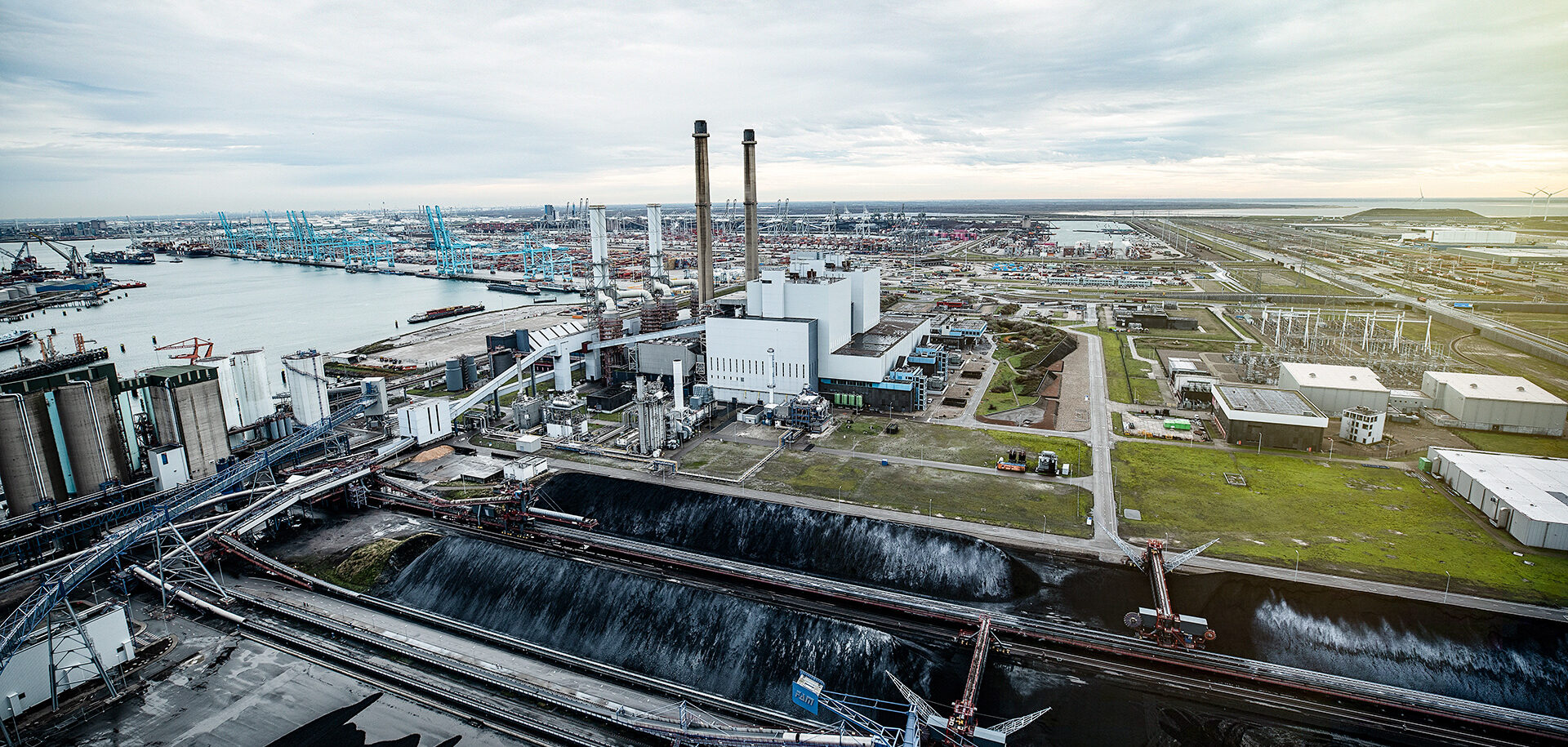 Elektrárna Maasvlakte Power Plant 3
