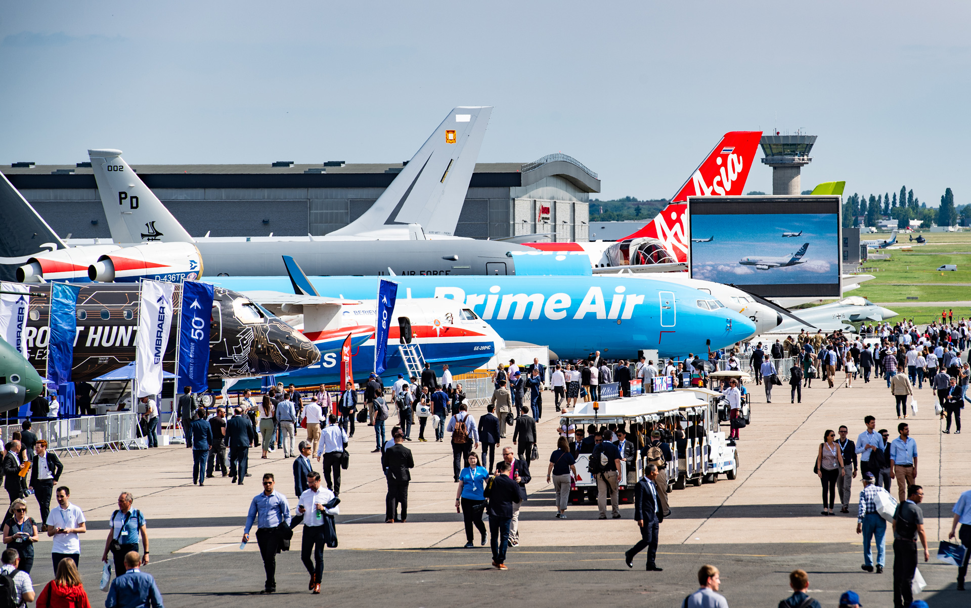 The 2019 edition of the historic Paris Air Show took place in June.