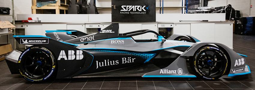 The Gen2 Formula E car.