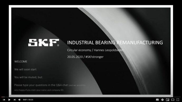 Bearing remanufacturing