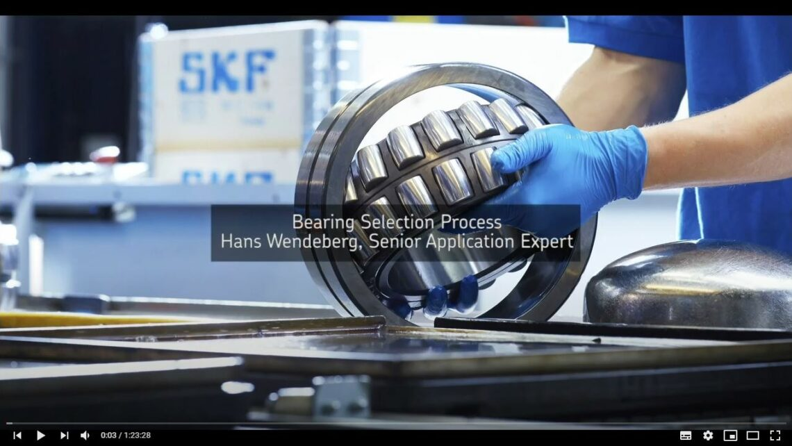 SKF Bearing Selection Process