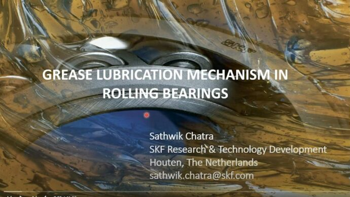 Grease lubrication mechanism