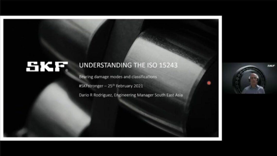 Title slide of webinar